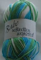 Euro Baby BABE SOFTCOTTON WORSTED DK Knitting Yarn / Wool 100g - 104 Popsicle